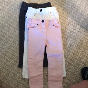 J Crewcuts skinny jeans multiple colors